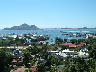 Seychelles - Victoria, the capital of Seychelles