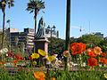 Victoria Statue in Albert Park, Auckland.jpg