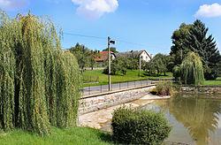 Vidlatá Seč, small pond.jpg