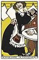 Viennese Café- In the Little Café (Wiener Café- Im Tschecherl) (1911) print in high resolution by Moriz Jung. Original from the MET Museum. Digitally enhanced by rawpixel.jpg