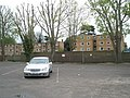 View from Cosham Masonic Hall car park towards The Droke - geograph.org.uk - 784110.jpg