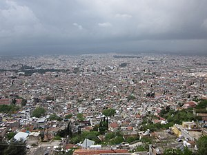 Antakya - A view of Antakya from the high ground