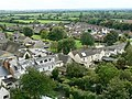 View south-east from St Sampson's tower, Cricklade - geograph.org.uk - 1476448.jpg