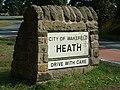 Village Sign, Heath, Wakefield - geograph.org.uk - 356391.jpg