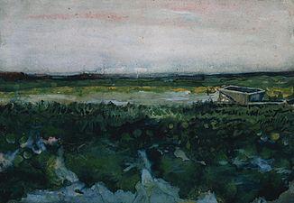 Vincent van Gogh - Landschap met Kruiwagen.jpg