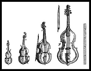 violin and bow sketch