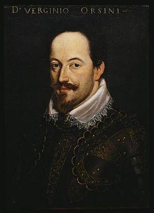 Virginio Orsini, Duke of Bracciano - Virginio Orsini, the second Duke of Bracciano by unknown Florentine painter