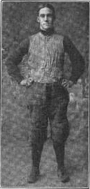 Virginius Dabney (American football) - Dabney in uniform