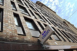 Huvudkontoret för fackførbundet Vision (fhv.   SKTF), Stockholm.