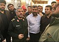 Visit of General Mohammad Ali Jafari of the Kermanshah Earthquake Zone 03.jpg