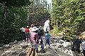 Visitors at Baring Falls (4481463177).jpg