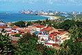 Vista de Olinda Patrimônio da Humanidade foi concedido pela Unesco em 1982, Recife ao fundo.jpg