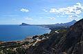 Vista de la badia d'Altea des del castellet de Calp.JPG