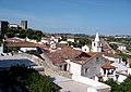 Vista sobre a Vila de Óbidos e sobre o Castelo de Óbidos.jpg