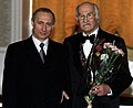 Vladimir Putin with Vladimir Zeldin-1 (cropped).jpg