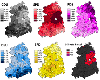 1990 East German general election election