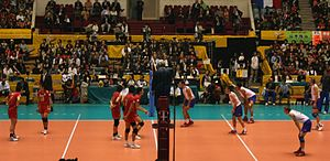 2006 FIVB Volleyball Men's World Championship - Japan vs. France.