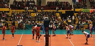 2006 FIVB Volleyball Men's World Championship - Japan vs. France.