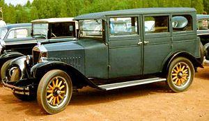 Volvo Cars - Volvo PV4 4-door saloon 1927