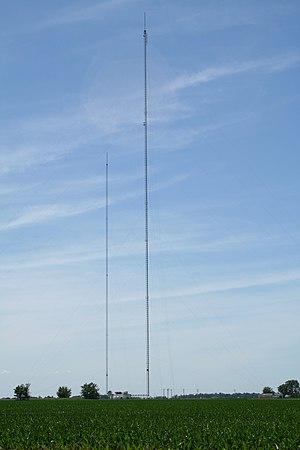 WAND - Image: WAND and WBUI towers