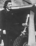 WASP Helen Anne Turner in front of her P-51 Mustang.jpg