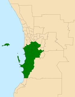 Electoral region of South Metropolitan