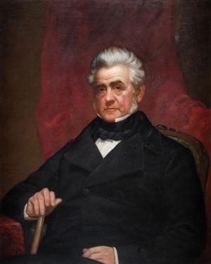 William C. Bouck - Gubernatorial portrait of William C. Bouck.