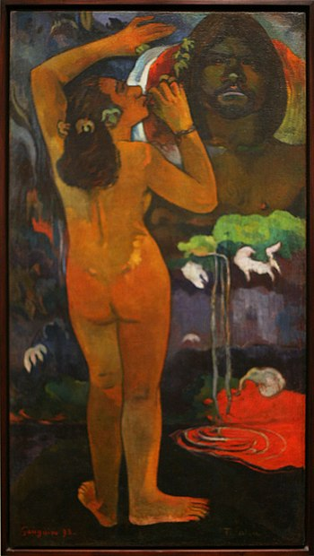 WLA moma Paul Gauguin The Moon and the Earth 1893