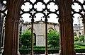 WLM14ES - Silueta d'un arc de la galeria amb el lavatori al fons del Reial Monestir de Santes Creus, Aiguamurcia, Alt Camp - MARIA ROSA FERRE.jpg