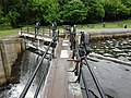 Walking on one of the locks (20563868788).jpg