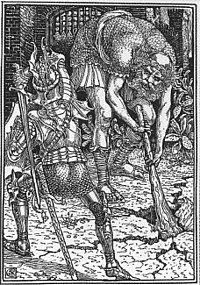 Walter Crane King Arthur and the Giant Book I, Canto VIII