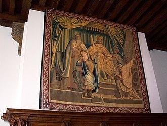 Coat of arms of Haarlem - Image: Wandtapijt wapenvermeerdering haarlem