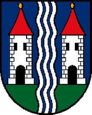 Vöcklamarkt - Image: Wappen at voecklamarkt