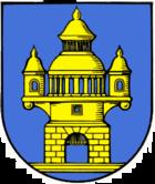Das Wappen von Taucha