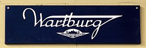 Wartburg, Enamel advert sign at the den hartog ford museum pic-009.JPG