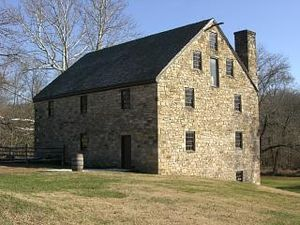 George Washington's Gristmill - Reconstruction of George Washington's 1771 gristmill