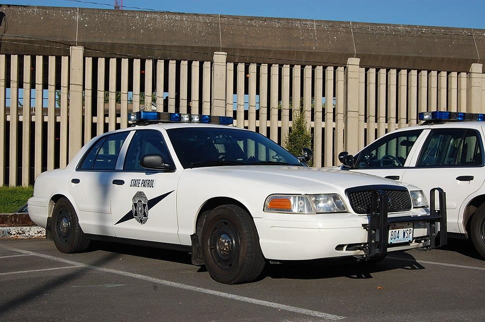 Washington State Patrol Crown Vic
