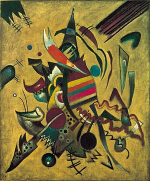 Wassily Kandinsky - Points, 1920, 110.3 × 91.8 cm, Ohara Museum of Art