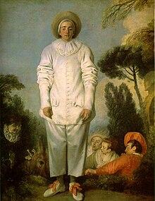 Pierrot (commedia dell\'arte) — Wikipédia