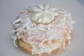 Wedding doughnut with flower (15459769775).jpg