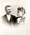 Wedding portrait of Mary Hunter and Wallace Austin, 1891.jpg