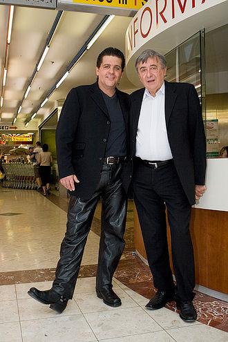 Tony Wegas - Wegas with entrepreneur Richard Lugner in May 2006