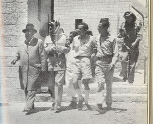 Abdullah el-Tell - el-Tell and Weingarten after the surrender of the Jewish Quarter