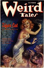 Weird Tales cover image for October 1937
