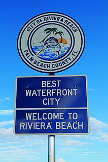 Riviera Beach, Florida City in Florida
