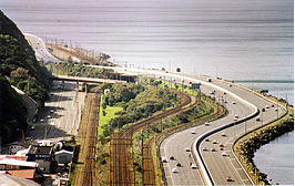 De Wellington Urban Motorway in 1994