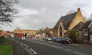 Elloughton village in the United Kingdom