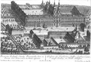 Lubiąż - The abbey