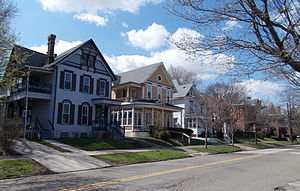 Western Pennsylvania - Image: West 21st Street Historic District Erie PA Apr 13