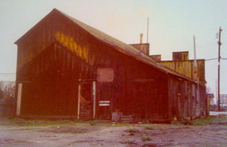 Castroville, California - The Saloon, Rear View